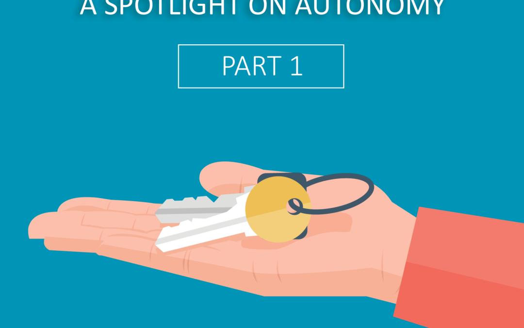Jonas' ABCs – Part 1: A Spotlight on Autonomy