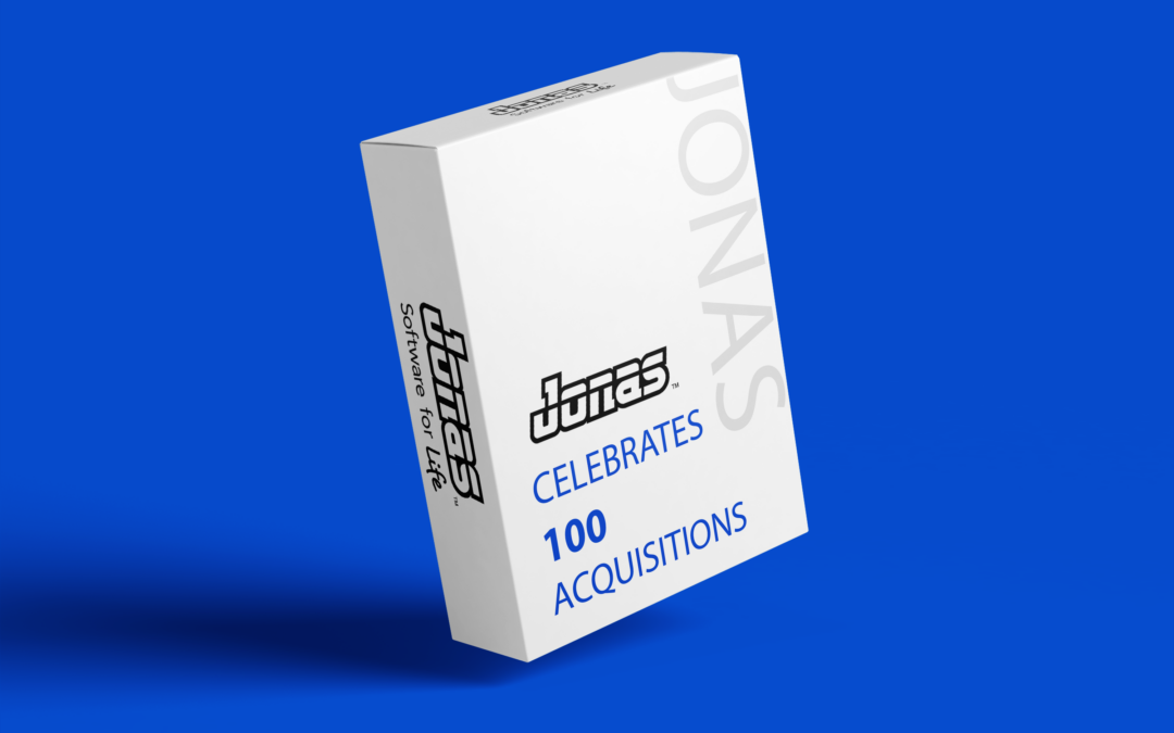 A Big Milestone for Jonas Software: 100 Acquisitions