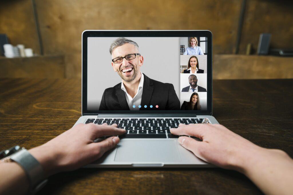 online-team-video-call