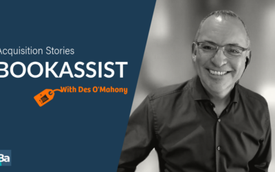 Acquisition Stories – Des O'Mahony, Bookassist
